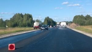 Teeremont Tartu-Valga maanteel