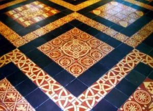Mettlahhplaatidest põrand