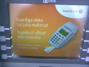 Swedbank ajab udu